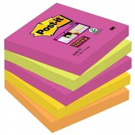 Foglietti Post-it® Super Sticky Cape Town 76x76 mm - 5 pz.