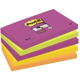 Foglietti Post-it® Super Sticky Cape Town 76x127 mm - 5 pz.