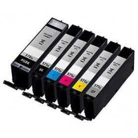 22.2ML With chip Canon MG5700,MG6800,MG7700PGI-570pgbkXL