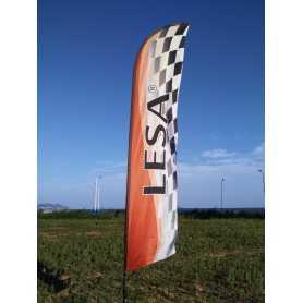 Beach flag gigante 4,5 metri Bandiera FPV race