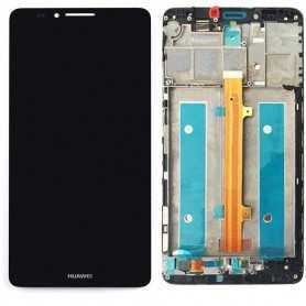 Huawei Mate 7 lcd Assemblato Incluso frame Nero
