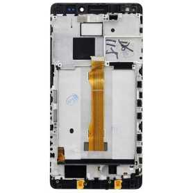 Lcd + Touch con Frame Originale per Huawei Mate S Nero