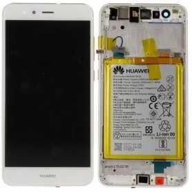 Huawei P10 Lite LCD + Batt + Frame Service Pack Bianco