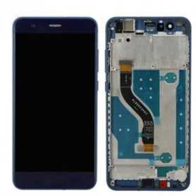 Huawei P10 Lite LCD Display Touch + Frame Originale Blu