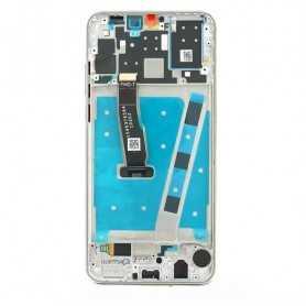 Lcd per Huawei P30 Lite LCD con Frame Bianco