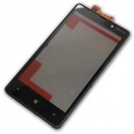 Touch Screen con Frame Nokia lumia 820